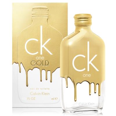 *Calvin Klein CK one gold中性淡香水 200ml 2017限量版