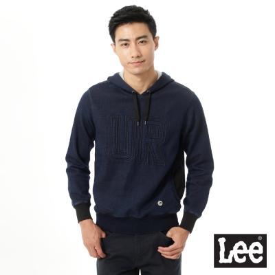Lee Urban Rider  連帽Tee-男款-藍