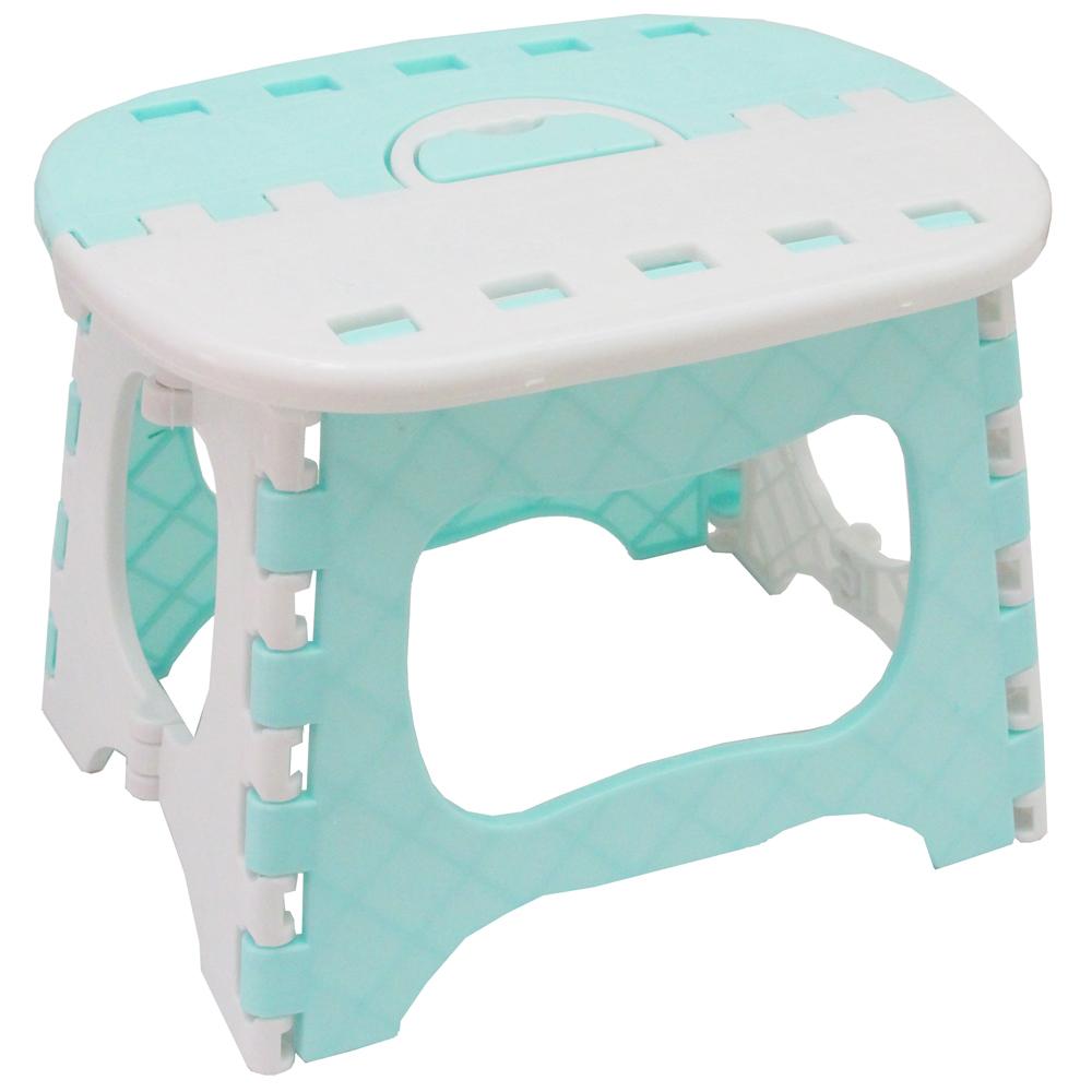 高19cm粉彩系防碰傷便攜式折疊椅超值2入(SS1952)