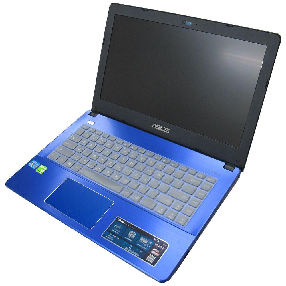 EZstick ASUS K450 K450V 專用奈米銀抗菌TPU鍵盤保護膜