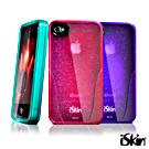iSkin iPhone4/4S Glam 鑽石晶透抗菌 TPU 保護套