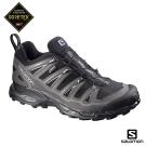 Salomon 登山鞋 低筒 GORETEX 防水 男 X ULTRA 2 黑灰