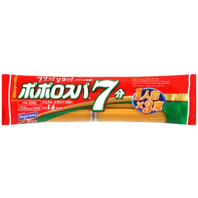 Hagoromo 義大利麵7分(300g)