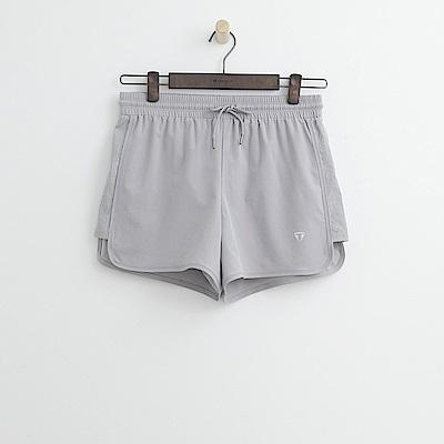 Hang Ten - 女裝 - ThermoContro抽繩運動短褲-灰色