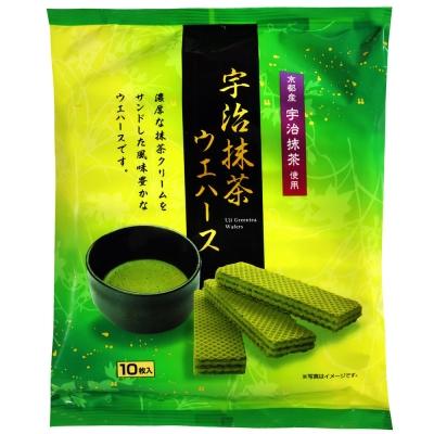 中新製果 宇治抹茶威化餅(70g)