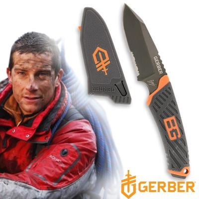 Gerber貝爾求生系列半齒半刃固定直刀