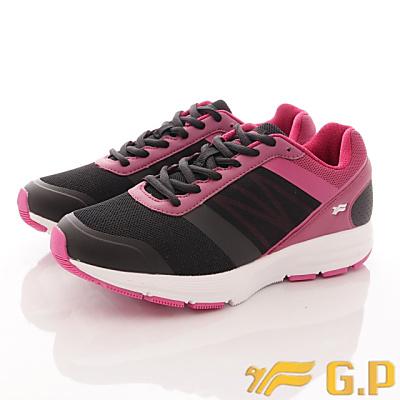 GP時尚潮流-輕量彈力運動鞋款-FI795W-15黑桃(女段)