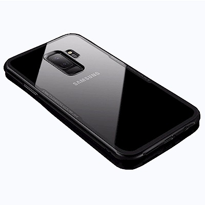 G-CASE 晶透系列 Samsung S9 Plus 透明玻璃+TPU防摔殼