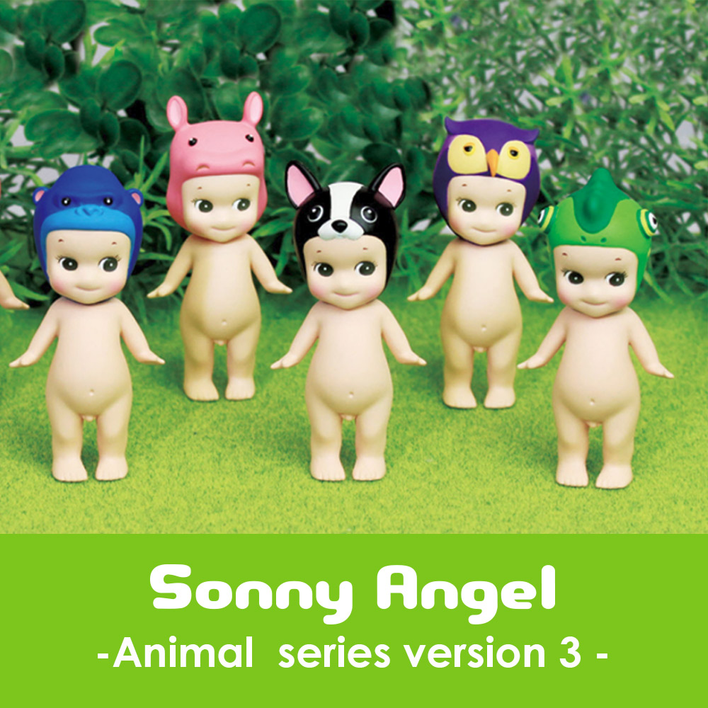 日本超人氣 Sonny Angel 經典動物系列 Version.3 盒玩公仔(單抽)
