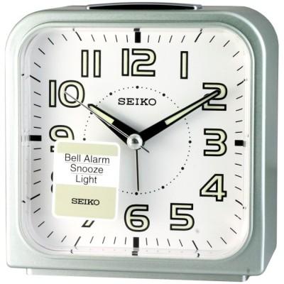 SEIKO精工色彩美學時尚鬧鐘-粉綠