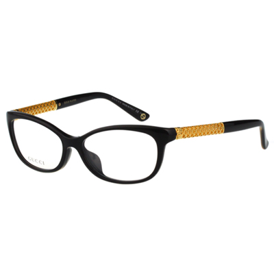 GUCCI-時尚光學眼鏡(黑色) @ Y!購物