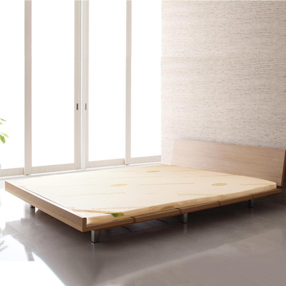 LooCa旗艦網布2.5cm天然乳膠床墊-雙人5尺