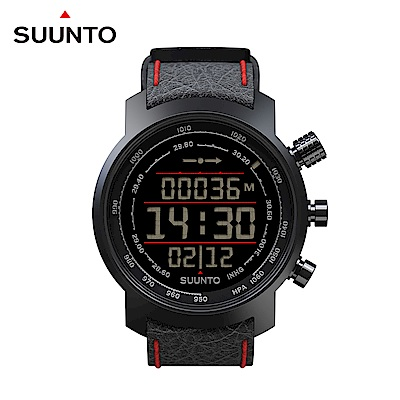 SUUNTO Elementum Terra Black/Red 都會與山林休閒頂級運動錶