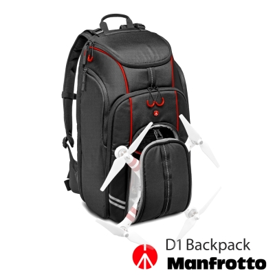 Manfrotto 曼富圖 D1 Drone Backpack 空拍機專用雙肩後...