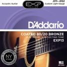 DAddario DDXF-EXP13 黃銅包覆民謠木吉他套弦