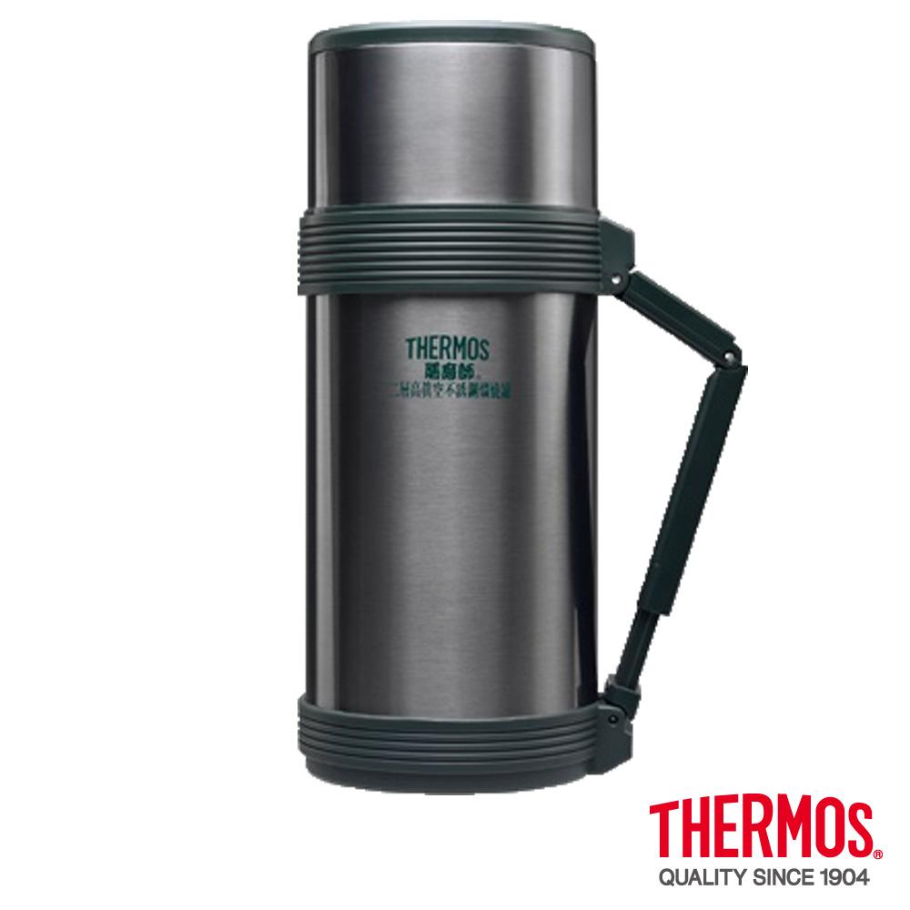 THERMOS膳魔師 不鏽鋼真空燜燒罐 0.75L(HJC-750-CGY)