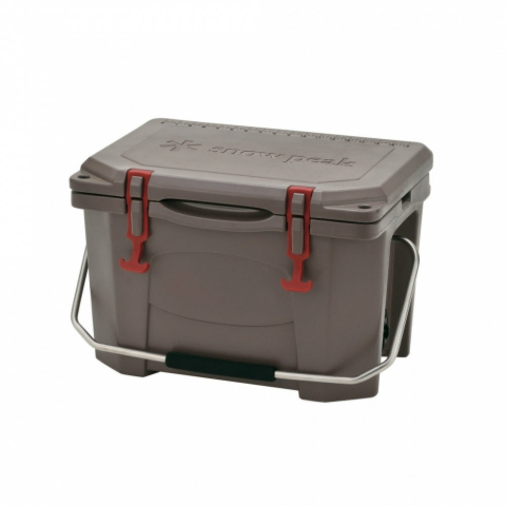 SNOW PEAK UG-301GY HARD ROCK COOLER 保冷箱 20QT