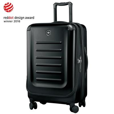 VICTORINOX 瑞士維氏Spectra 2.0輕量硬殼可擴充27吋行李箱-黑