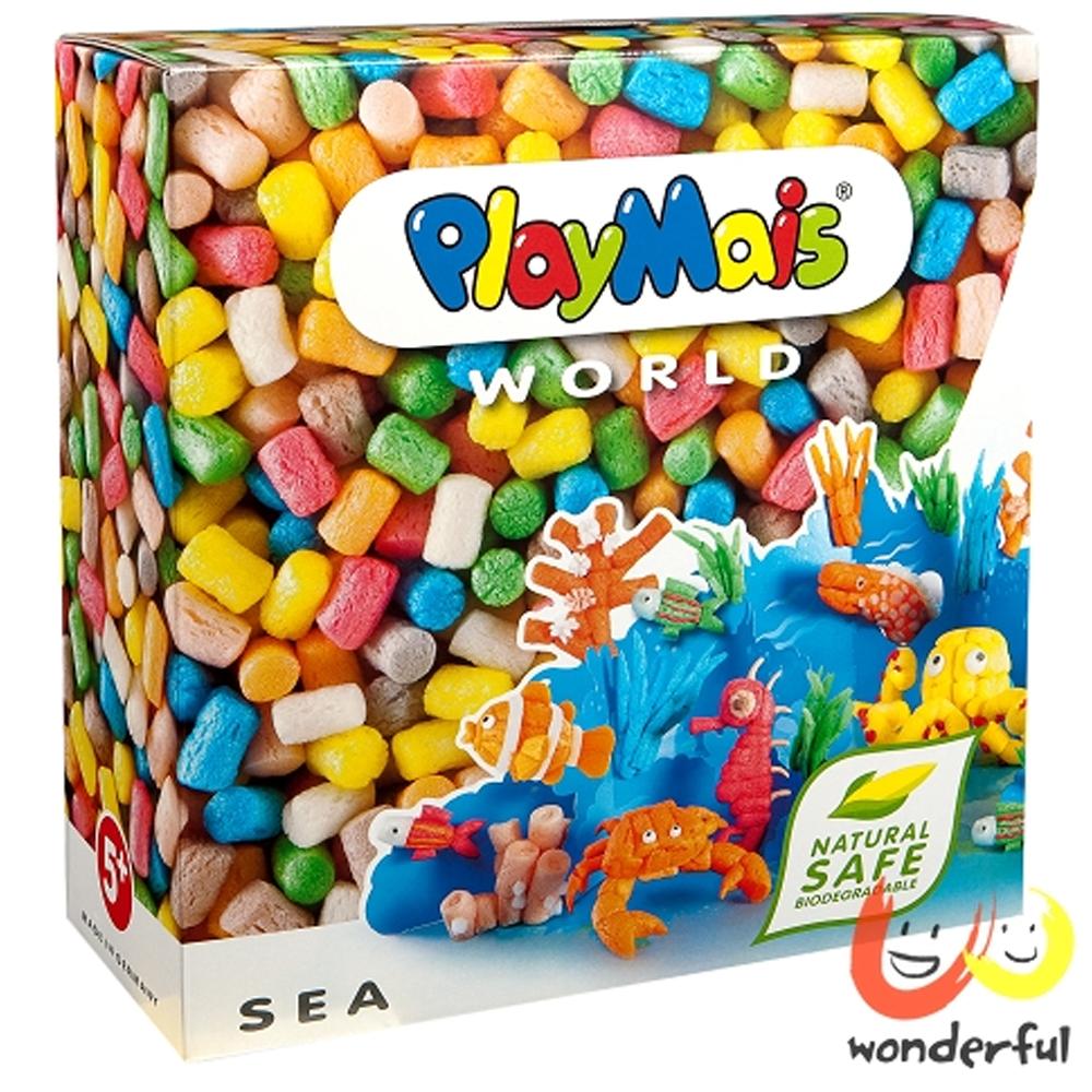 《Playmais》玩玉米創意黏土主題禮盒 - 海底世界
