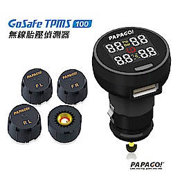 PAPAGO! GoSafe TPMS 100無線胎壓偵測器 -