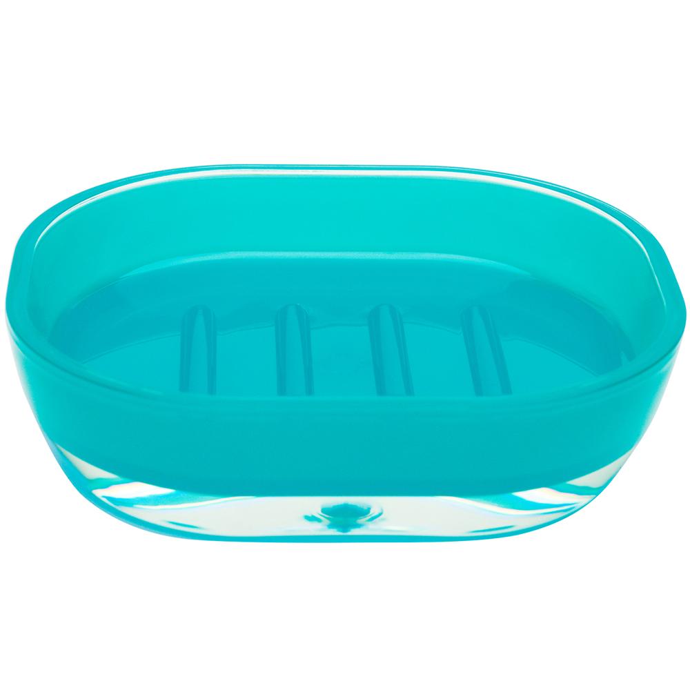 EXCELSA 晶透肥皂盒(藍)