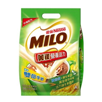 雀巢美祿三合一雙倍牛奶巧克力麥芽(30gx16入)