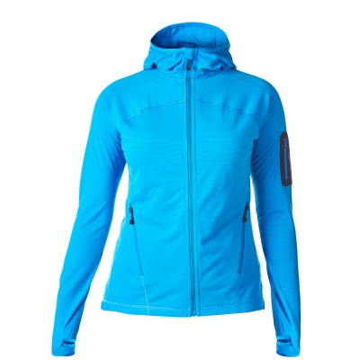 【Berghaus 貝豪斯】女款輕量彈性保暖外套H22F22-藍