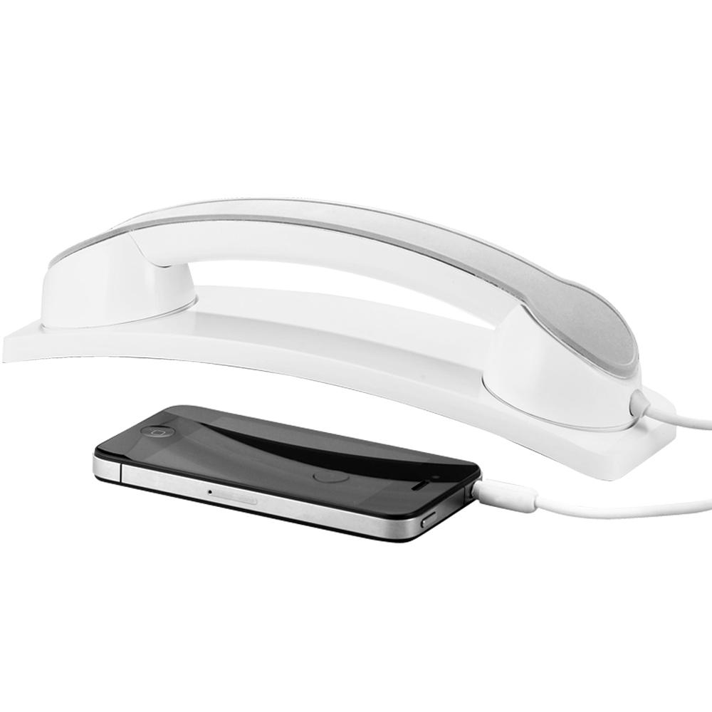 《Addex》Handset 手機話筒(白)