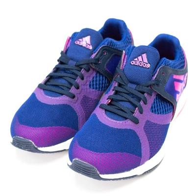 ADIDAS-CRAZYMOVE女慢跑鞋-籃紫