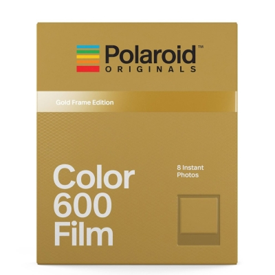 Polaroid Color Film for 600 彩色底片(金框)/2盒