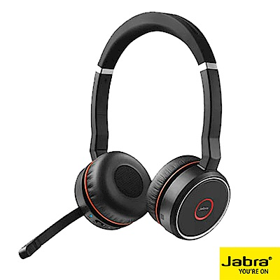 Jabra Evolve75無線藍牙耳機麥克風