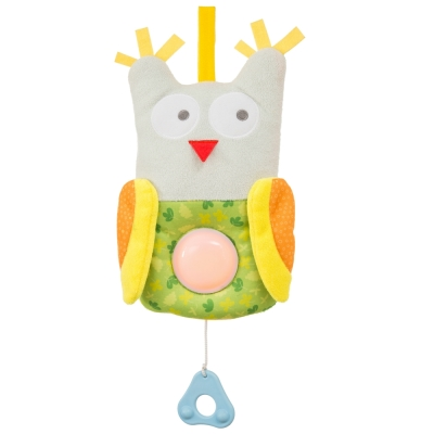 taf toys五感開發系列-睡眠安撫貓頭鷹