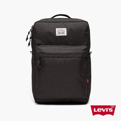 後背包 經典雙馬車標誌 黑 - Levis