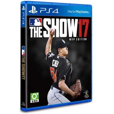 預購-MLB-The-Show-17-MVP版-PS4亞洲英文版-拆封無鑑賞期