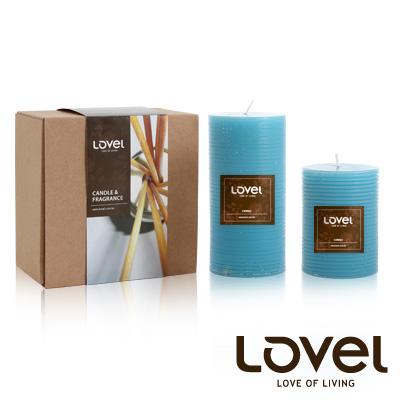 【LOVEL】香氛手工蠟燭組(千層系列-海洋)