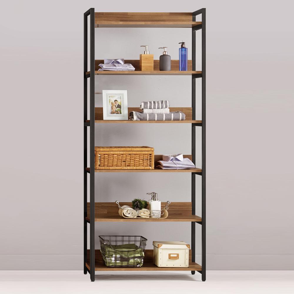 Bernice-諾德2.7尺開放式多層收納衣櫃-80x44x191cm