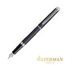 WATERMAN 雋雅系列 霧黑白夾 鋼筆