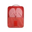Funzakka 花漾旅行收納鞋袋V2-經典紅