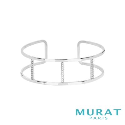 MURAT Paris米哈巴黎 雅緻線條寬手環