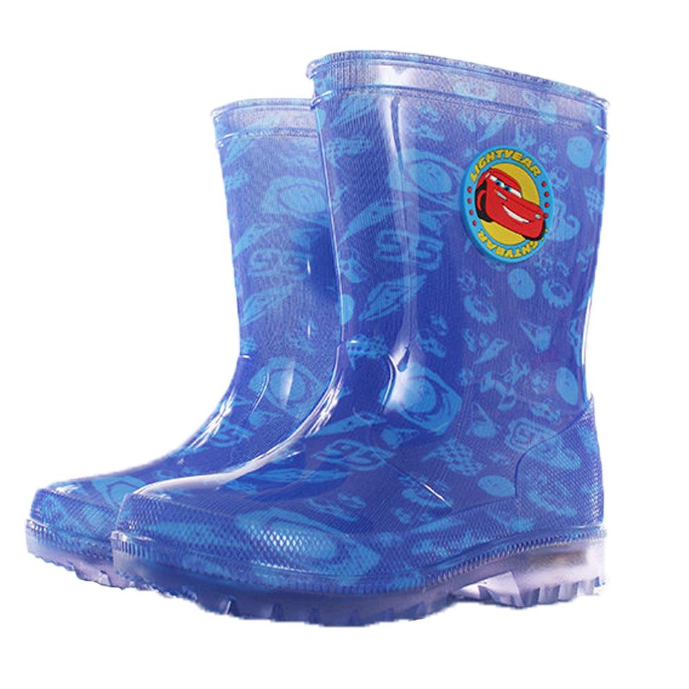 迪士尼閃電麥坤鞋底閃燈雨靴 sh9977
