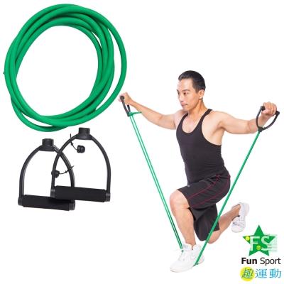 Fun Sport 力舒展彈力伸展繩(含握把)