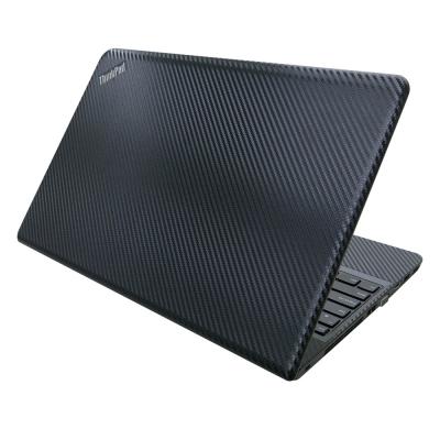 EZstick Lenovo E550 專用 Carbon 黑色立體紋機身貼(DIY包膜)