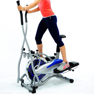 SAN SPORTS 飛輪車2IN1手足健身車