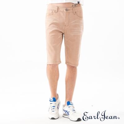 Earl Jean 低腰休閒卡其短褲-淺卡其-男