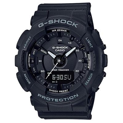 G-SHOCK 超人氣指針數位雙顯錶款(GMA-S 130 - 1 A)-黑色/ 47 mm