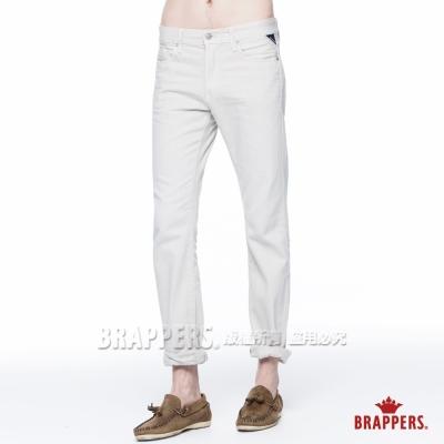 BRAPPERS 男款 HC Cargo系列-中腰窄版直筒褲-淡灰