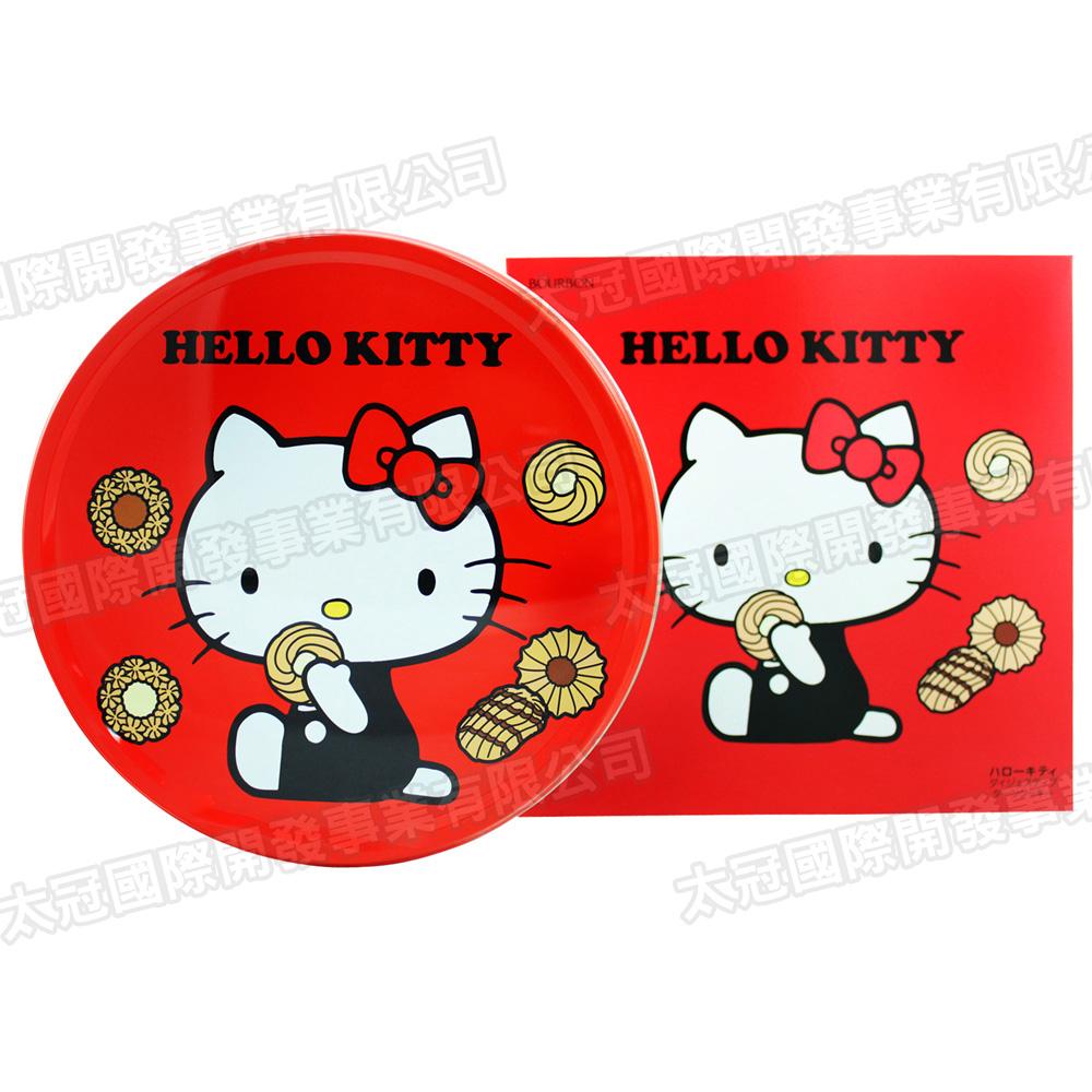 北日本 Kitty凱蒂貓圓罐餅乾禮盒(60枚/盒)