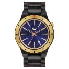 WEWOOD 義大利木頭腕錶 ASSUNT MB BLUE GOLD-烏木/45mm