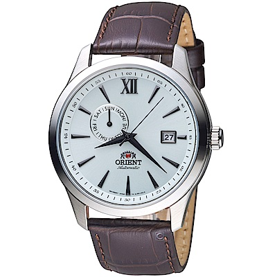 ORIENT東方錶 Classic Design系列簡約日期機械錶(FAL00006W)