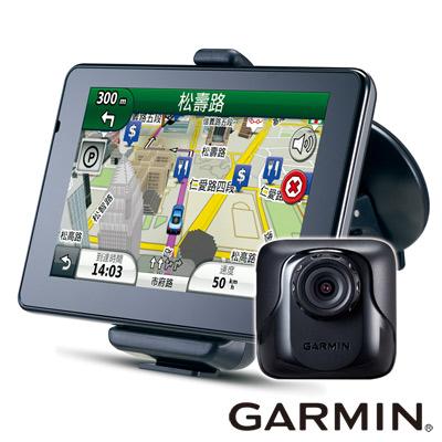 GARMIN-nuvi-3560R-5吋高畫質影音藍芽聲控行車記錄衛星導航